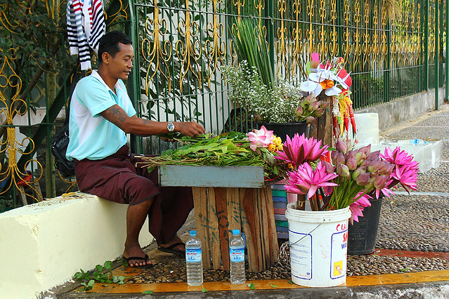 Flower shop - Yangon