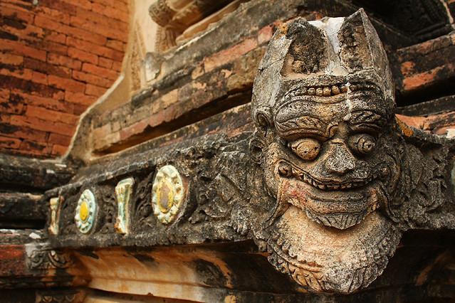 Temple decorations - Bagan