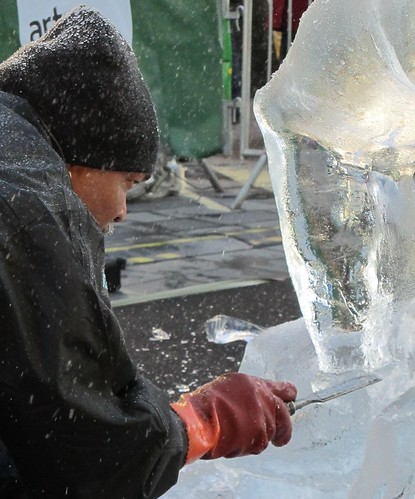 London Ice Sculpting Festival 2012