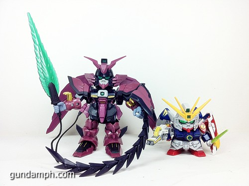 SD Gundam Online Capsule Fighter EPYON Toy Figure Unboxing Review (31)