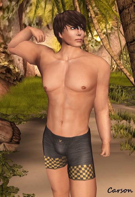 dekade - Anderson Dark Tan Skin Vitamen - Gold Boxers