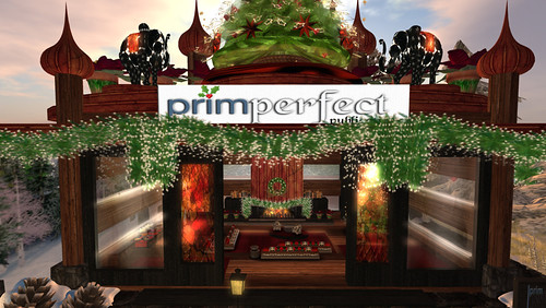 The Prim Perfect Pavilion at the Christmas Expo 2011