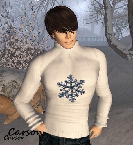 B!ASTA  - Let it Snow Men's Sweater