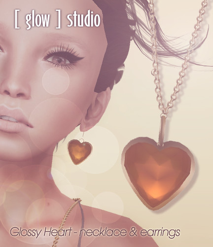 With Love (again) From... [ glow ] studio - glossy heart set