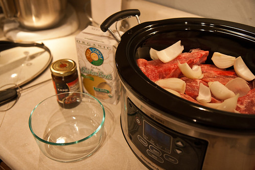 Asian slow cooker ribs