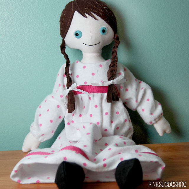 angel doll jammies