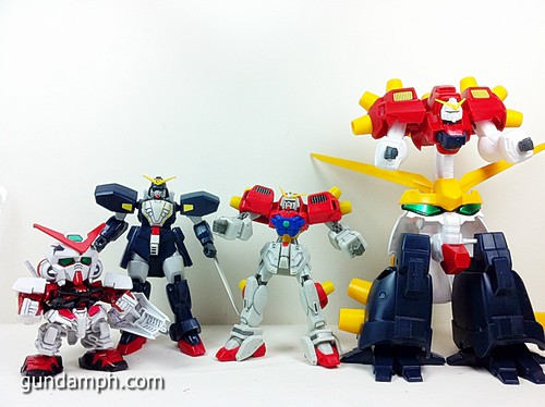 MSIA Devil Gundam First Form Unboxing Review Huge (45)