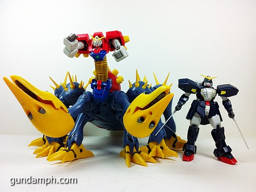 MSIA Devil Gundam First Form Unboxing Review Huge (82)