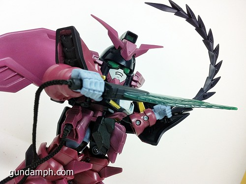 SD Gundam Online Capsule Fighter EPYON Toy Figure Unboxing Review (58)