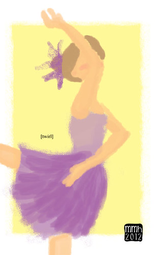 Illustration Friday: Twirl