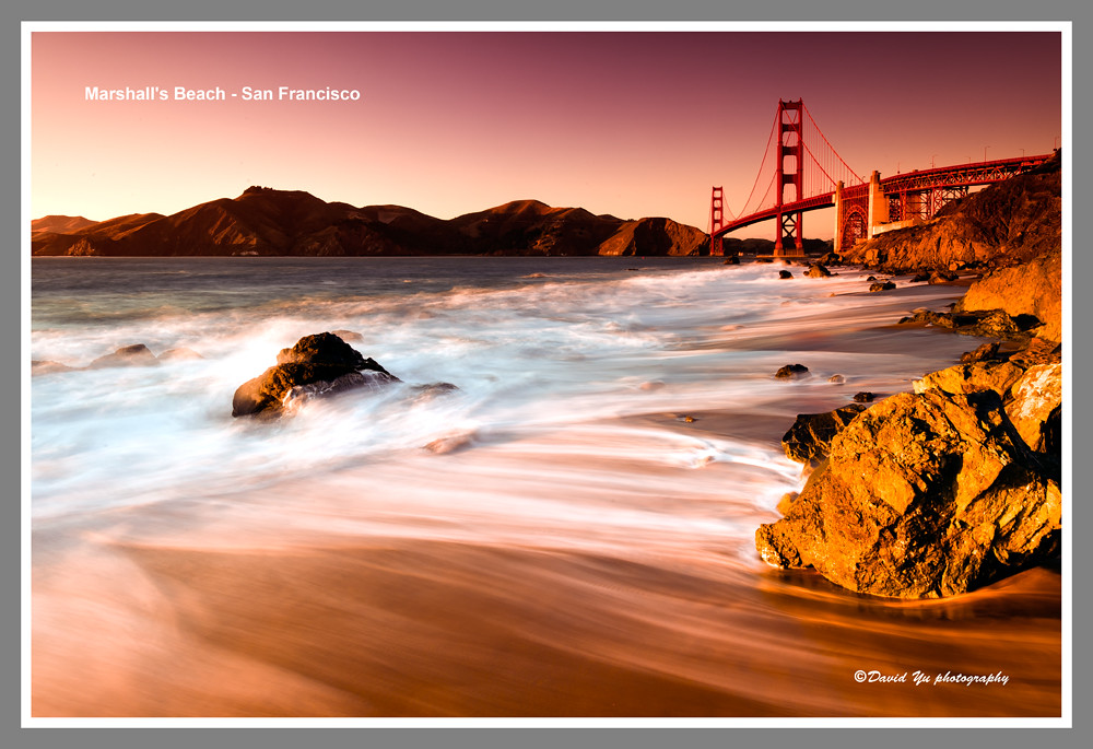 Marshall's Beach - San Francisco
