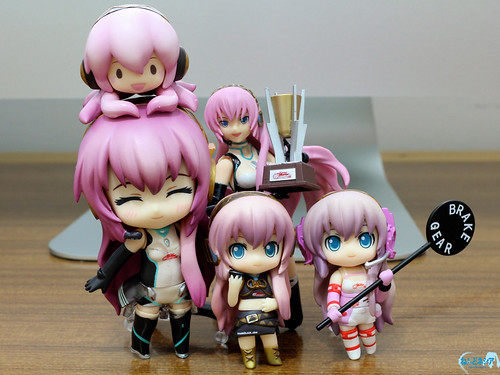 Racing-themed Megurine Luka