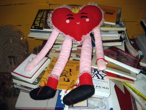 Heart with long arms and legs