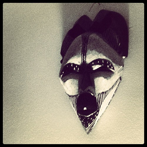 199: one of the voodoo masks that watch over me as I sleep.