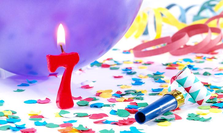 ¡Estoy de aniversario! – Ya son 7 años del blog