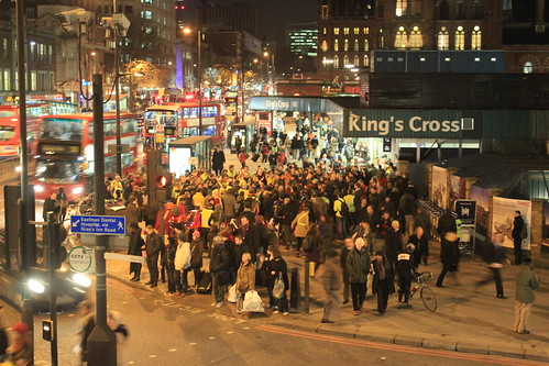 Big attendance at the Kings Cross Christmas Vigil