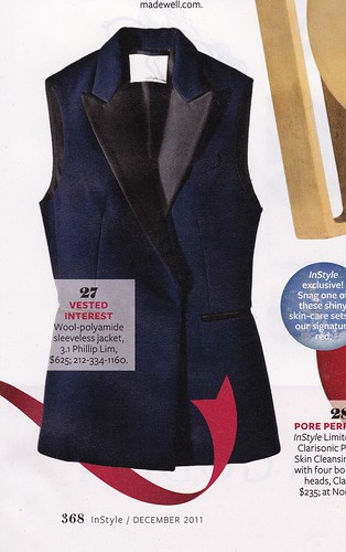 3.1 Phillip Lim Jacket as seen in Instyle Dec. 2011