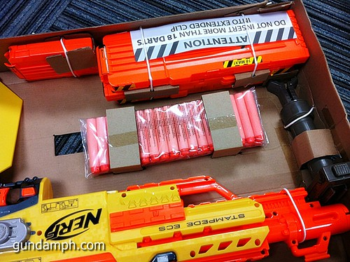 NERF Sale 50% Off Stampede Raider Recon Unboxing Review (19)