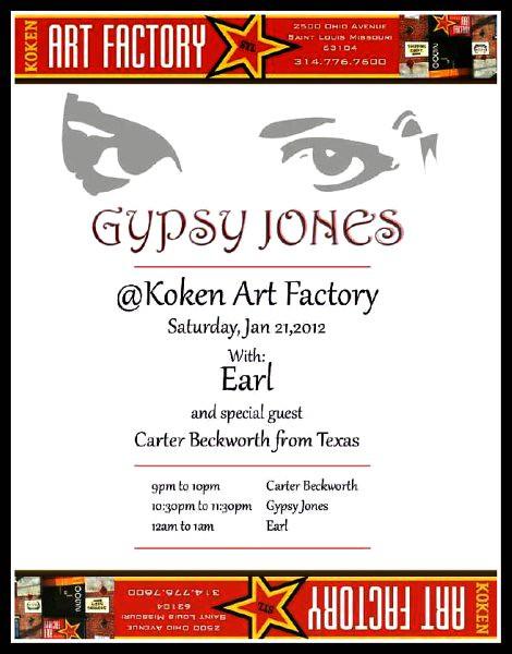 Gypsy Jones 1-21-12