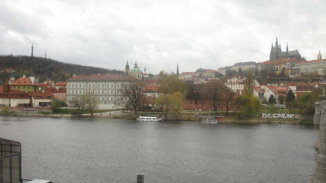 Petřín, St Nicholas Church, and Hradčany