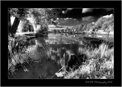 Pseudo Infra Red Lake.