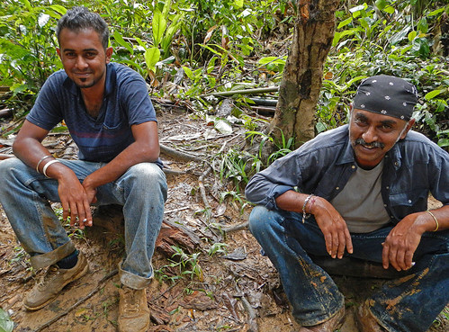 Marvin and Nick, our intrepid guides