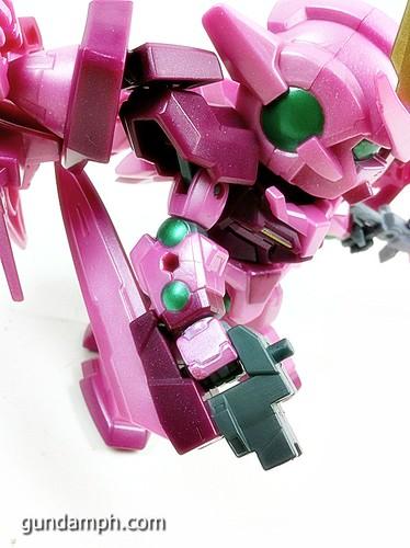 SD Gundam Online Capsule Fighter Trans Am 00 Raiser Rare Color Version Toy Figure Unboxing Review (42)