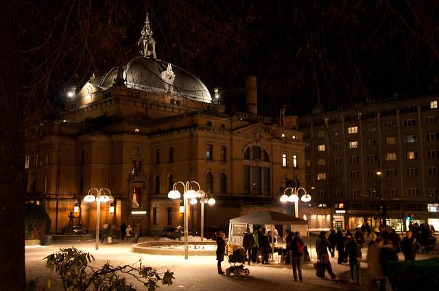 A winterevening in Oslo