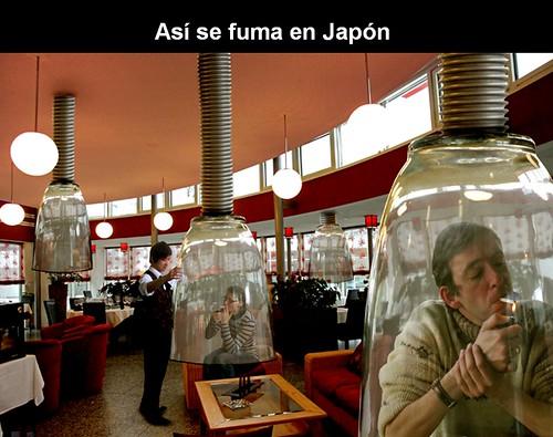 ASI SE FUMA EN JAPON by LaVisitaComunicacion