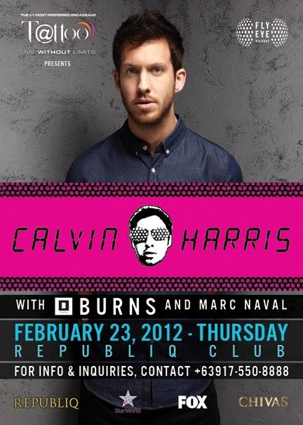 Calvin Harris poster