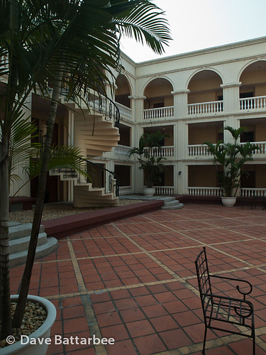Colonial Courtyard