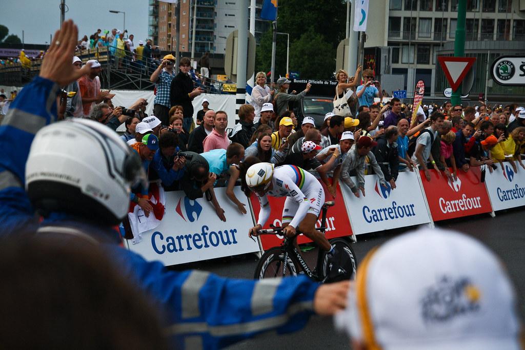 Fabian Cancellara, Rotterdam, TDF 2010