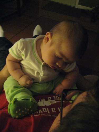 Emile sleeping