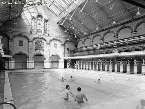 Victoria Baths, 1955