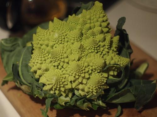 Romanesco broccoli, whole