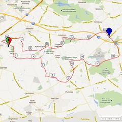 20. Bike Route Map. Hamilton Area YMCA, Crosswicks, NJ