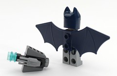 6858 Batman Detail