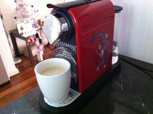 Nespresso coffee over Christmas