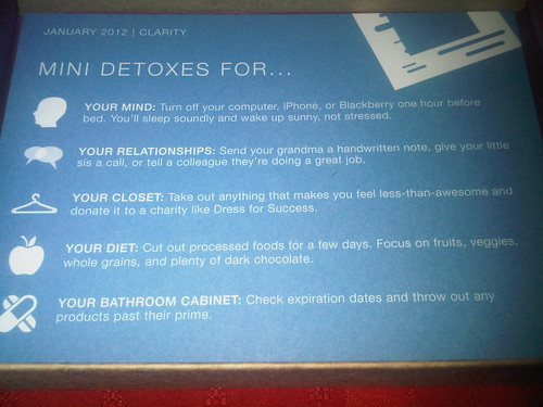 2012 January Birchbox