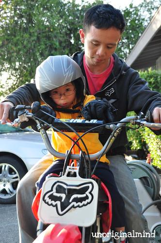 Riding!