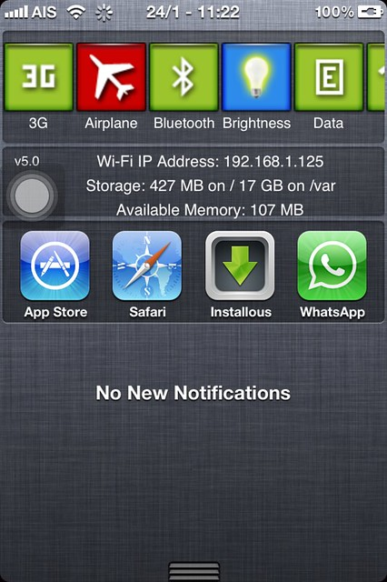 iPhone4S untethered jailbreak