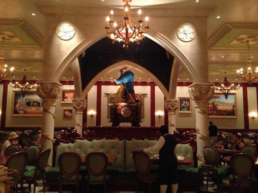 Beauty and the Beast Restaurant, Magic Kingdom WDW
