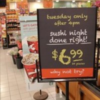 Longo's: Tuesday's Sushi