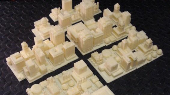 Reason #212 why 3D Printers rock:  SimCity 2000 Playset