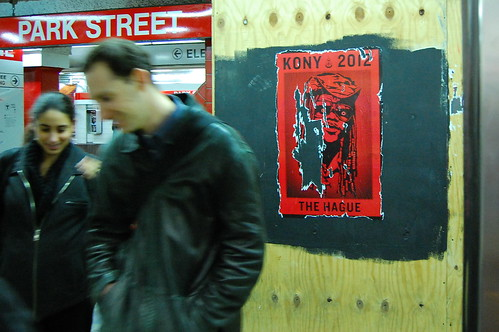 Kony Poster at Park Street by martha_jean