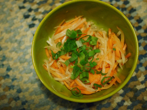 Carrot and Radish salad