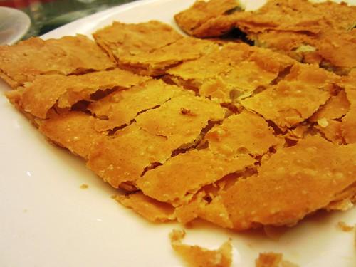 Deep fried Chinese pancake