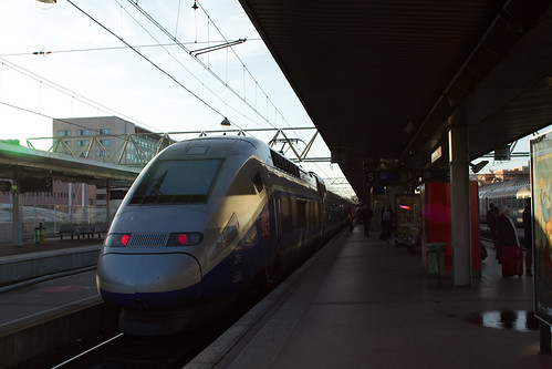 TGV at Lyon