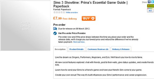 UK Simmers - Pre-Order the Showtime Prima Guide via Play!