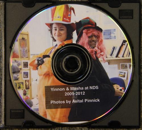 Yinnon & Masha Photo CD